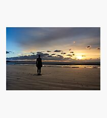 Crosby Beach Iron Man Another Place Photographic Print