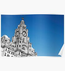 Royal Liver Building Liverpool Poster