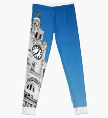 Royal Liver Building Liverpool Leggings