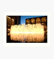 Lincoln Center Fountain Art Print
