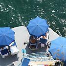Blue Umbrellas by longaray2