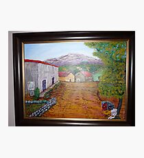 SMALL MEXICAN TOWN Photographic Print