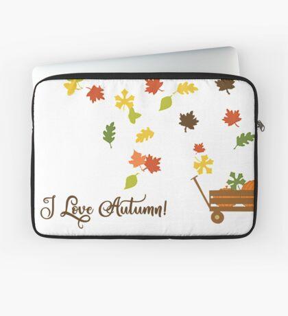 I Love Autumn Laptop Sleeve