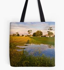 All those Puddles  Tote Bag