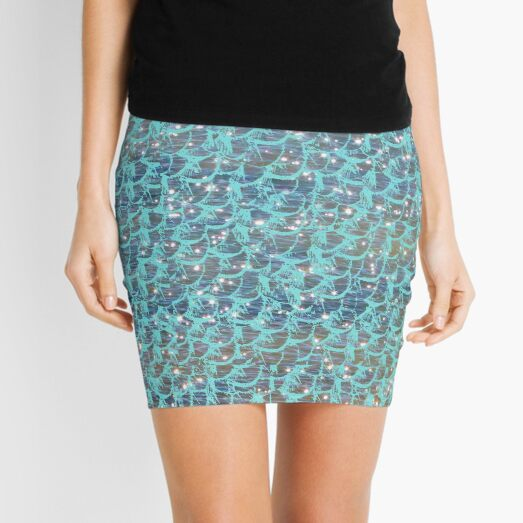 Mermaid seas Mini Skirt
