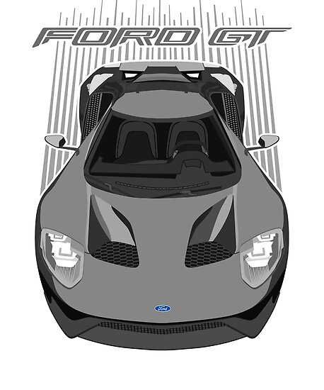 Ford Gt Grey By Vsocial