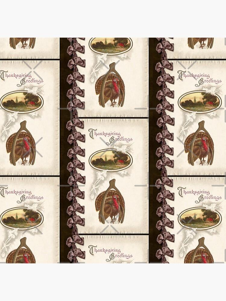 Thanksgiving Turkey and Wishbone - Goodluck by ButterflysAttic