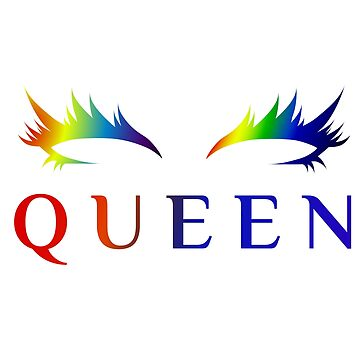 Queen | Rainbow Rave by Chibiuske