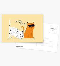 YOU MAY HAVE NOTICED Postcards