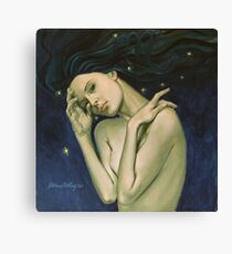 """""""Virgo""""...from """"Zodiac signs"""" series Canvas Print"""