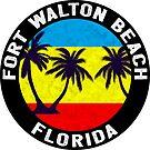 Fort Walton Beach Florida by MyHandmadeSigns