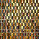 Black Gold Copper Tile by GuyBlank