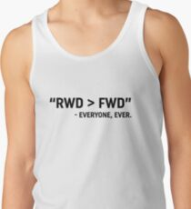 RWD > FWD design  Tank Top
