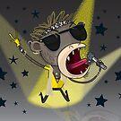 Rocker Ape by flamingrhino