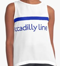 London Underground - Piccadilly Line colour strip sign (roundel) Contrast Tank