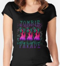 Zombie Parade Women's Fitted Scoop T-Shirt