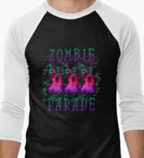 Zombie Parade Men's Baseball ¾ T-Shirt