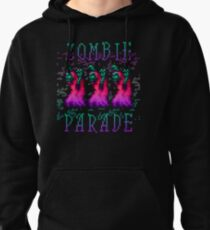 Zombie Parade Pullover Hoodie