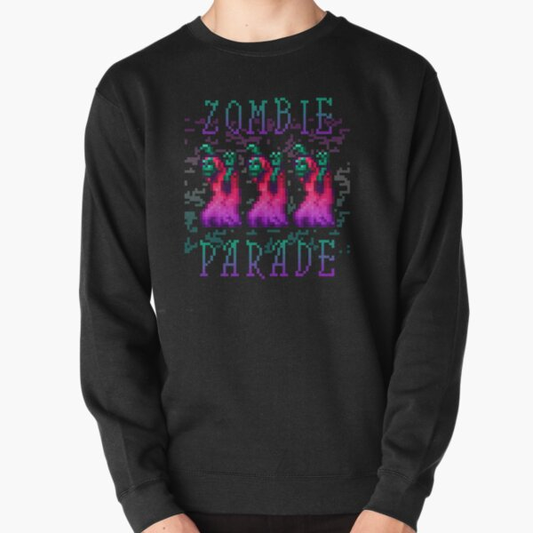 Zombie Parade Pullover Sweatshirt