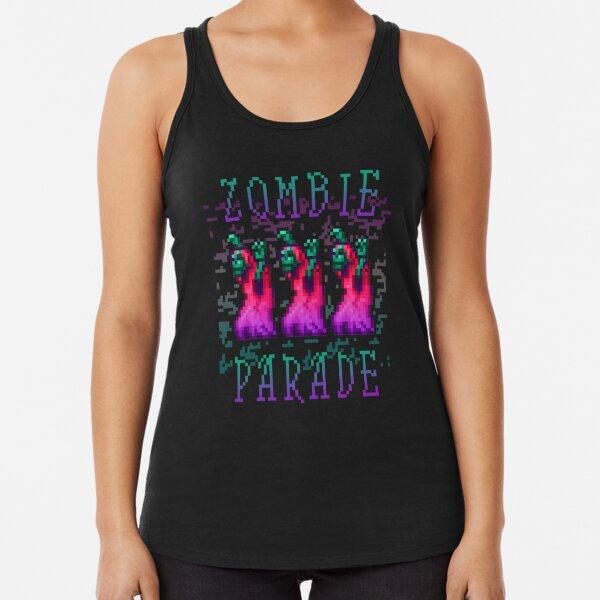 Zombie Parade Racerback Tank Top