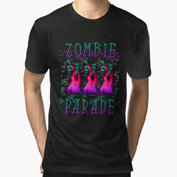Zombie Parade Tri-blend T-Shirt