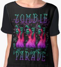 Zombie Parade Chiffon Top