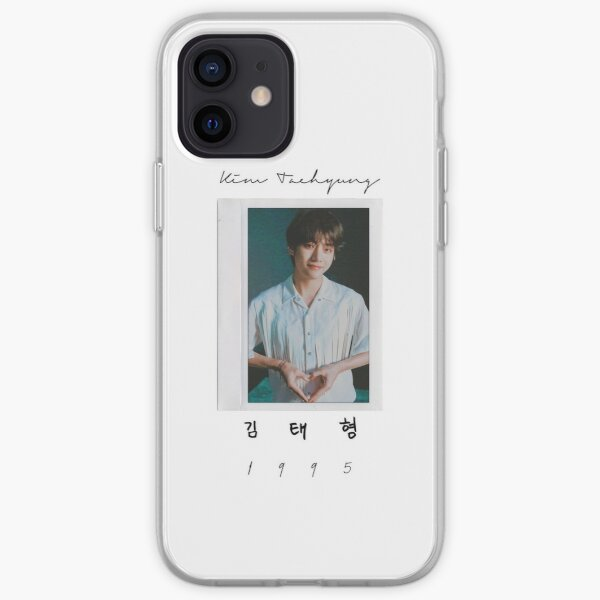 BTS V Initials iPhone Soft Case