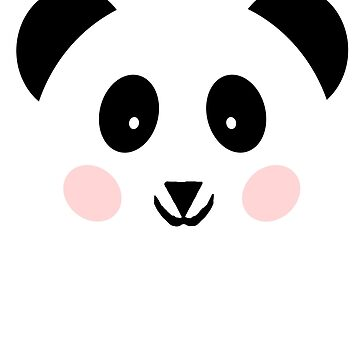 Panda graphic drawing gift birthday by Johnny1990