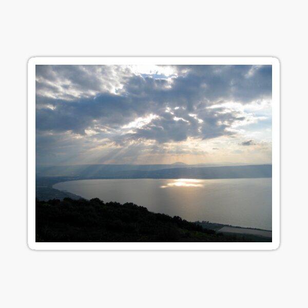 Sea of Galilee, Israel Sticker