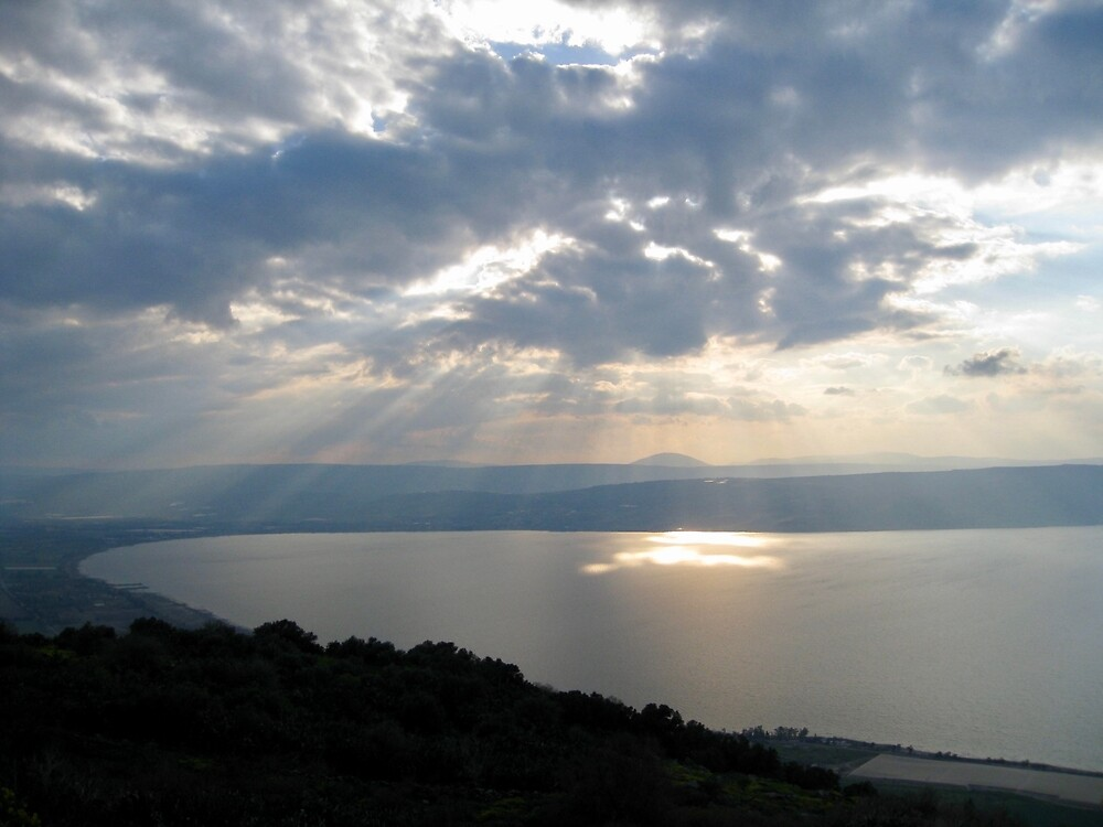 Sea of Galilee, Israel by EricaRobbin