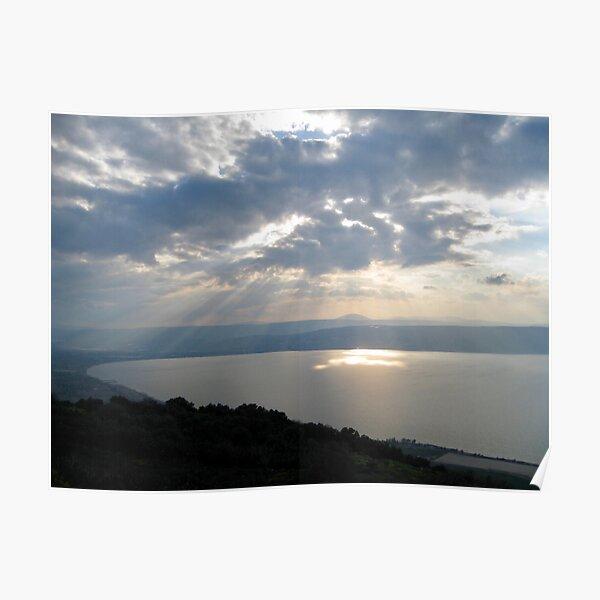 Sea of Galilee, Israel Poster