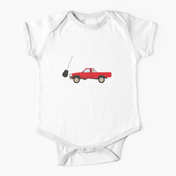 The indestructible Toyota Hilux  Short Sleeve Baby One-Piece