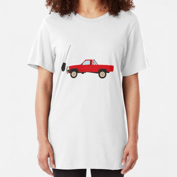 The indestructible Toyota Hilux  Slim Fit T-Shirt
