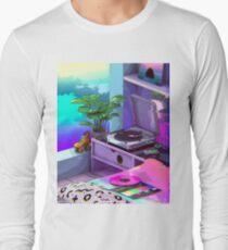 vaporwave aesthetic Long Sleeve T-Shirt