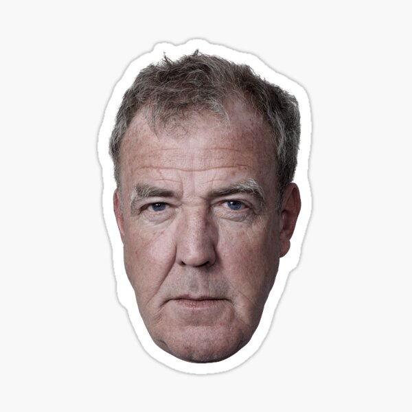 Jeremy Clarkson's face  Sticker