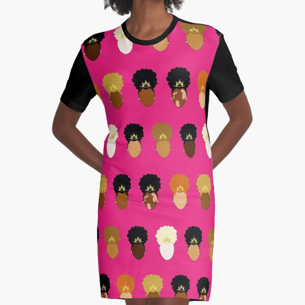 Pretty Puff Princess Graphic T-Shirt Dress