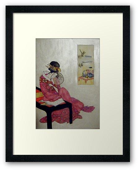 Geisha Reflections by Alexandra Felgate