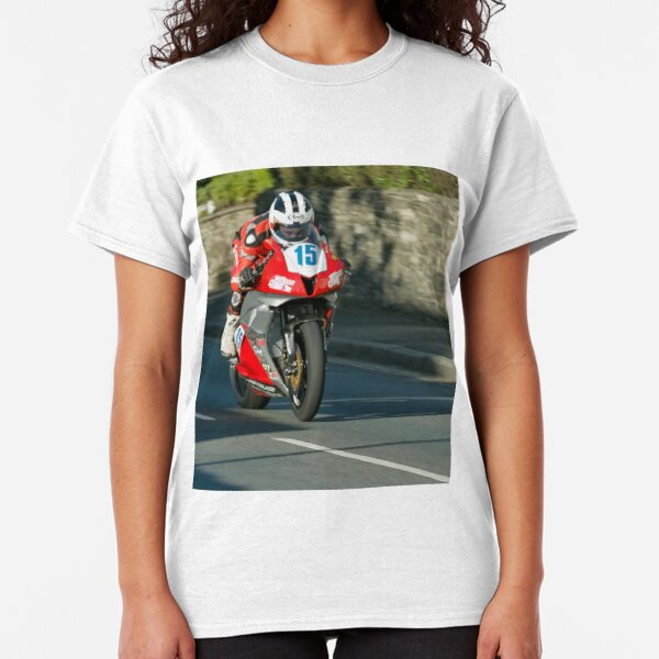 William Dunlop IOMTT Brae Hill Classic T-Shirt