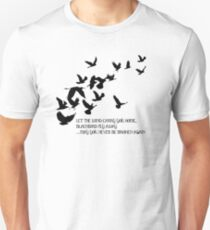 Blackbird, Alter Bridge - Lyrics Unisex T-Shirt