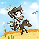 cow-boy by flamingrhino