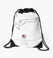 Circuit of The Americas Drawstring Bag