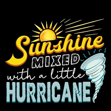 Sunshine Mixed With A Little Hurricane by JapaneseInkArt