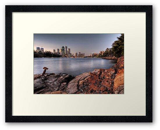 Kangaroo Point • Brisbane by William Bullimore