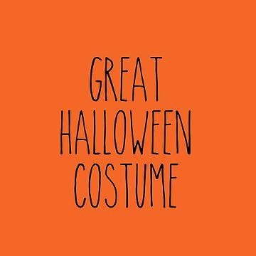 Great Halloween Costume! by mavisshelton