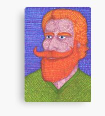 Red Beard Canvas Print