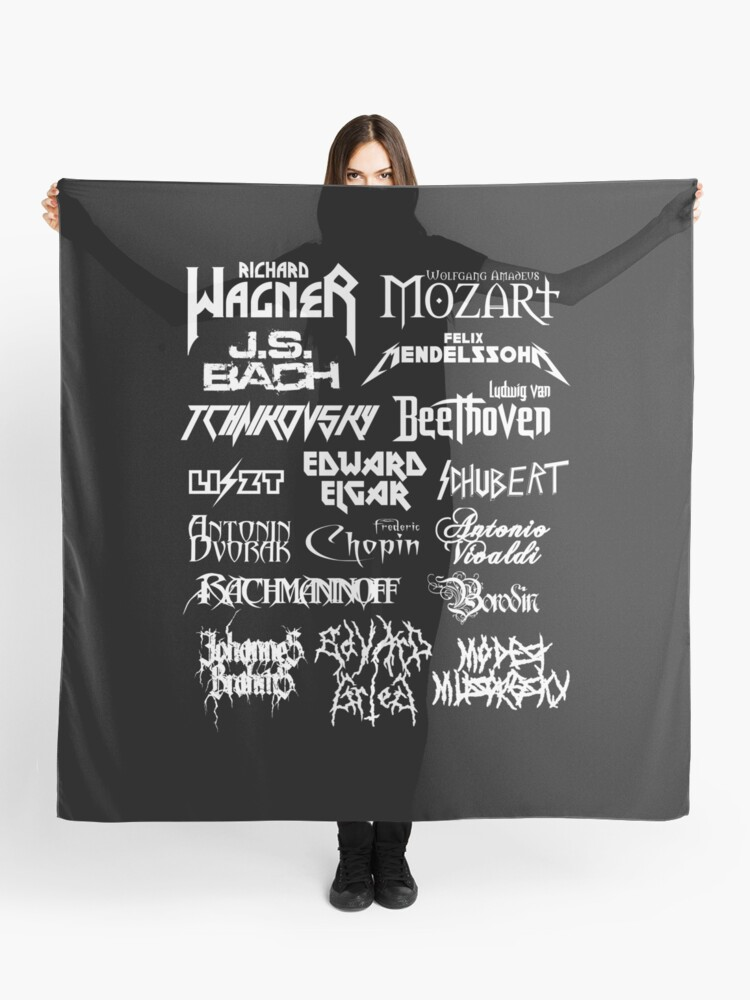 Heavy Metal-style Classical Composers | Scarf