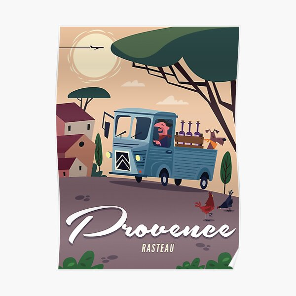 Affiche Provence Rasteau Poster
