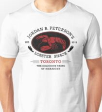 Jordan B. Peterson Lobster Shack - Hierarchy Unisex T-Shirt