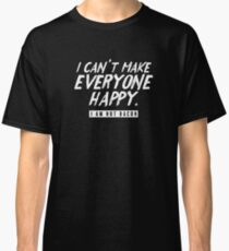 Funny Can't Make Everyone Happy Not Bacon Pork Foodie Shirt Classic T-Shirt