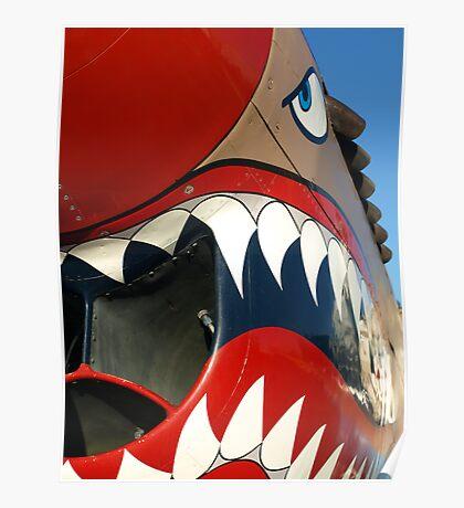Warhawk Teeth Poster